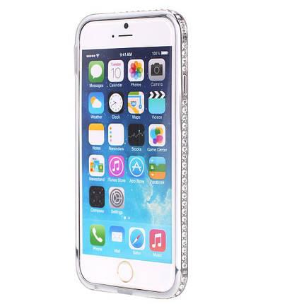 Бампер SHENGO SG03 Metal Bumper iPhone 6 Silver, фото 2