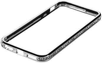 Бампер SHENGO SG03 Metal Bumper iPhone 6 Silver, фото 3