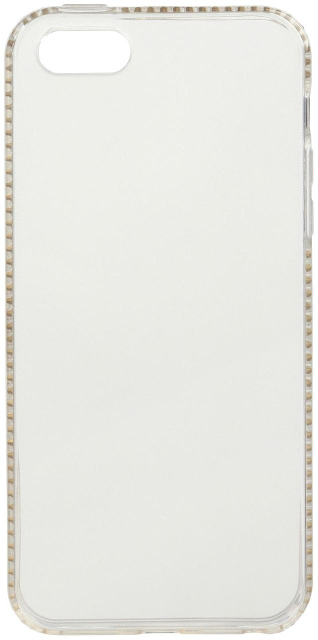 Чехол-накладка SHENGO SG34-Pro Soft TPU iPhone 5/5s/SE White