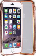 Бампер SHENGO SG03 Metal Bumper iPhone 6 Rose Gold, фото 3