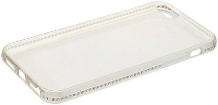 Чехол-накладка SHENGO SG34-Pro Soft TPU iPhone 5/5s/SE White, фото 3