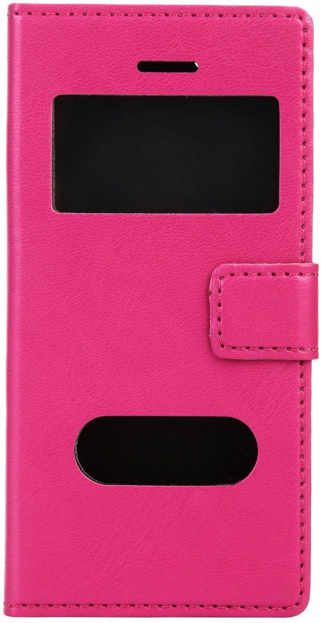 Чехол-книжка TOTO TPU material case iPhone 5/5S Pink