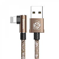 USB кабель Baseus Camouflage Lightning Cable 2.4A 1m brown
