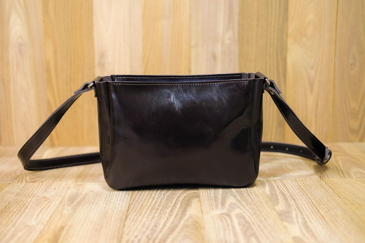 Женская сумка Надежда Кожа Пуллап цвет Кофе