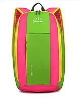 Спортивный рюкзак для ноутбука 15.6 салатовый