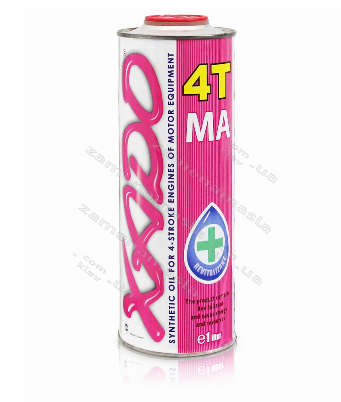 XADO Atomic Oil 10W-60 4Т MA 1л(мото-тех.) - моторное масло
