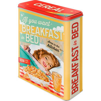 Коробка для хранения Nostalgic-Art Breakfast in Bed XL