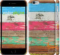 """Оригинальный чехол для iPhone 6 """" Цветное дерево """""""