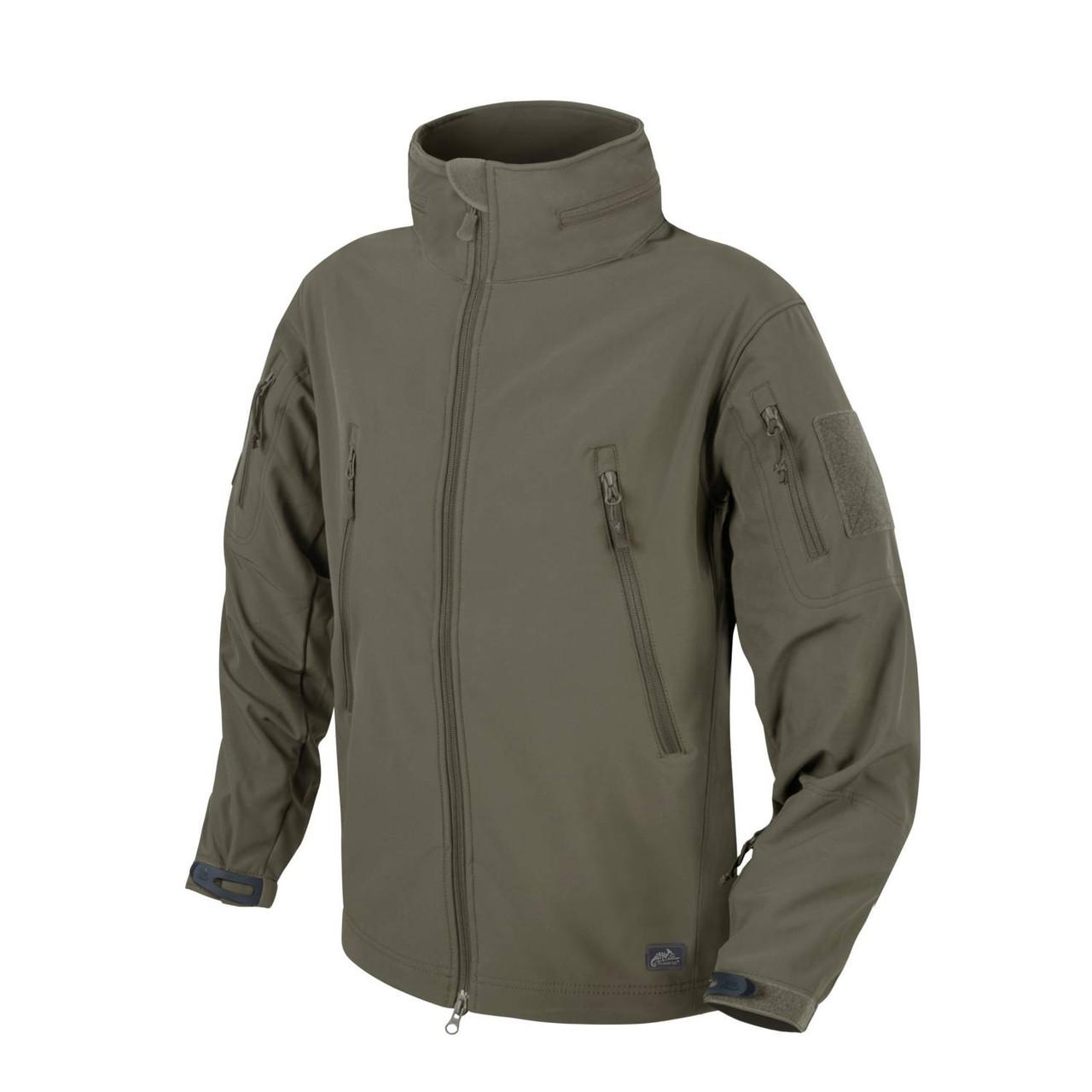 Куртка Helikon-Tex GUNFIGHTER Jacket- Soft Shell Windblocker TAIGA-GREEN, XL