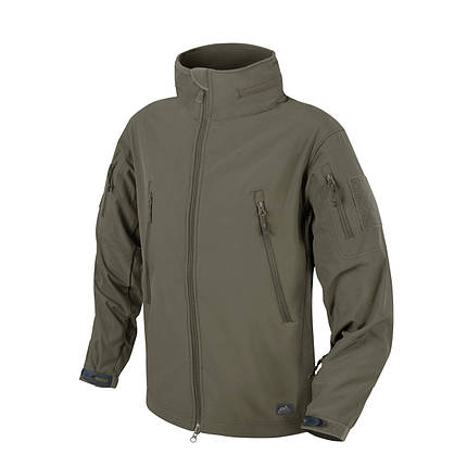Куртка Helikon-Tex GUNFIGHTER Jacket - Soft Shell Windblocker TAIGA-GREEN, XL, фото 2