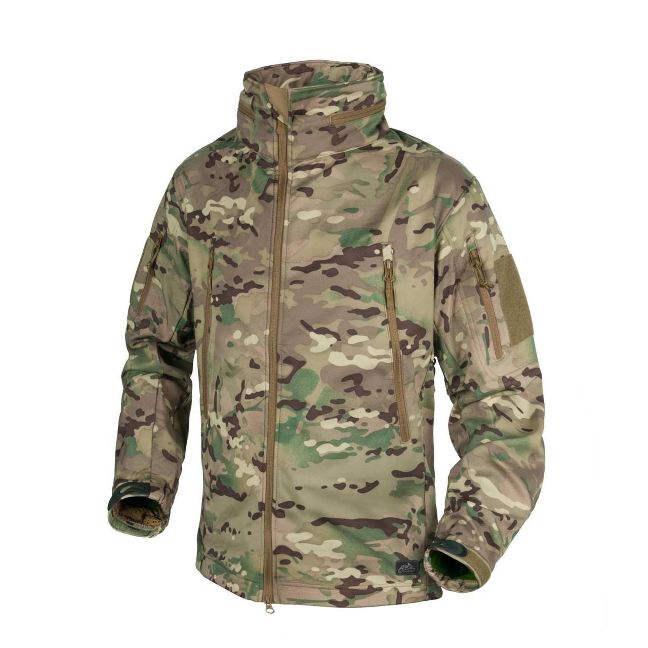 Куртка Helikon-Tex GUNFIGHTER Jacket- Soft Shell Windblocker CAMOGROM-R-, M