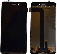 Дисплей для мобильного телефона  Nomi i5011 / черный / с тачскрином