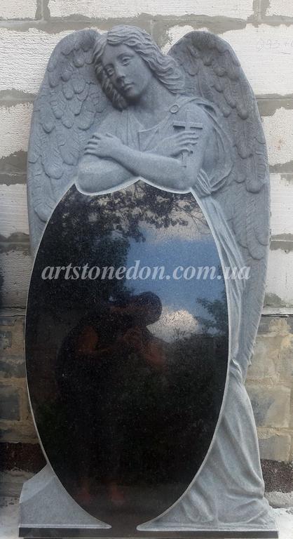 Памятник элитный Ангел скорбящий №741  13