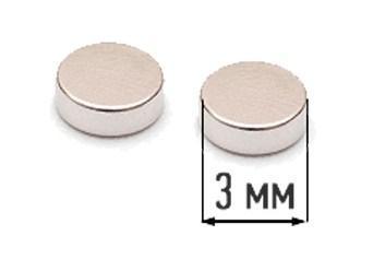 Неодимовий магніт 3 * 2 мм