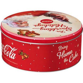 Коробка для хранения Nostalgic-Art Round L Coca-Cola - For Sparkling (30607)
