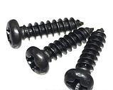 Саморіз чорний 3х12, фото 2