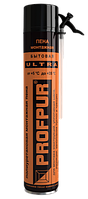 Піна монтажна PROFPUR Ultra ПОБУТОВА (літня), 750 мл