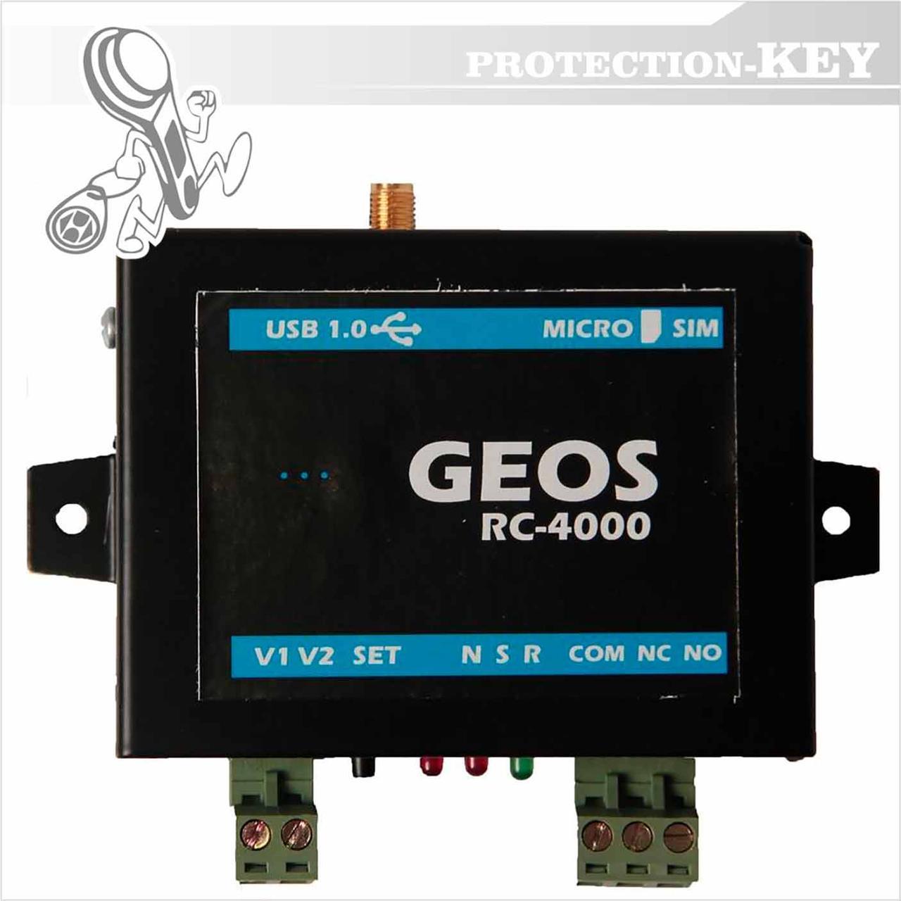 GSM контроллер RC-4000 (GSM дозвонщик)