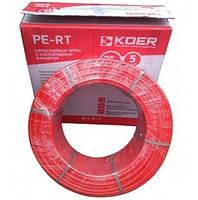 Труба 16 для теплої підлоги Koer PE-RT (бухта 200/400/600 м)