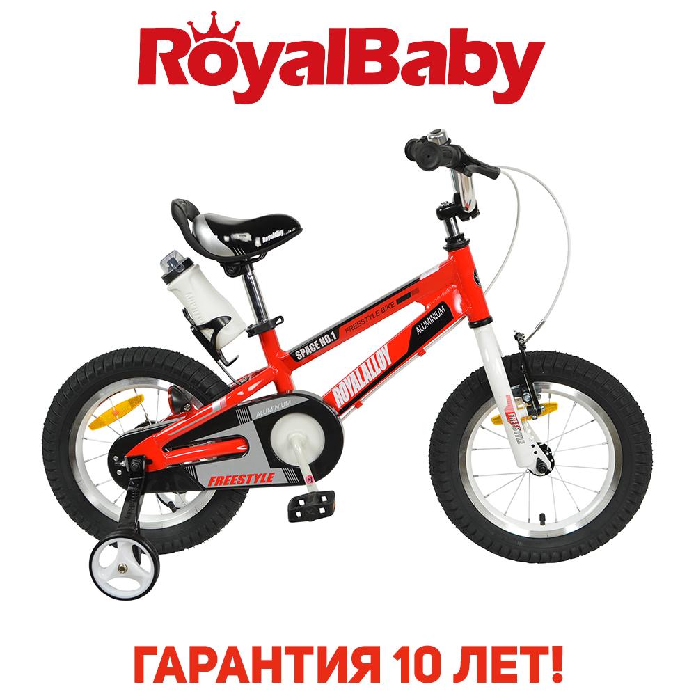 """Велосипед детский RoyalBaby SPACE NO.1 Alu 18"""", OFFICIAL UA, красный"""