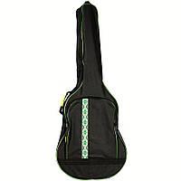 Чехол для акустической гитары HA-WG 41Z без утеплителя с зеленым орнаментом
