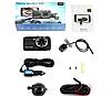 Автомобильный видеорегистратор +камера заднего хода T657 1080 FULL HD с ночной сьёмкой, фото 2