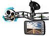 Автомобильный видеорегистратор +камера заднего хода T657 1080 FULL HD с ночной сьёмкой, фото 8