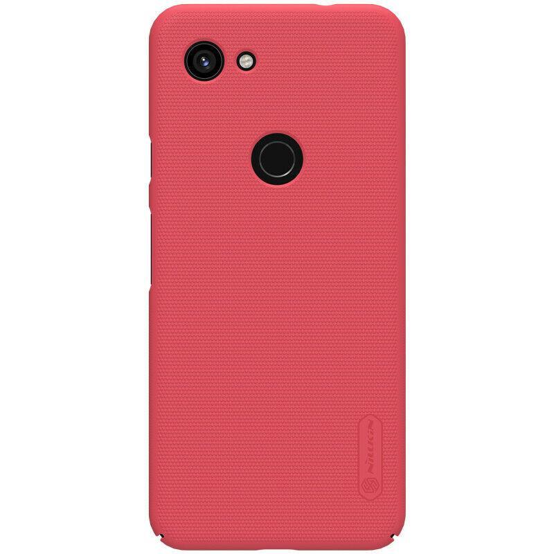 Nillkin Google Pixel 3a XL Super Frosted Shield Red Чехол Накладка Бампер