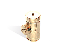 Ревизия одностенная из нержавейки 0,5 мм, диаметр 140мм