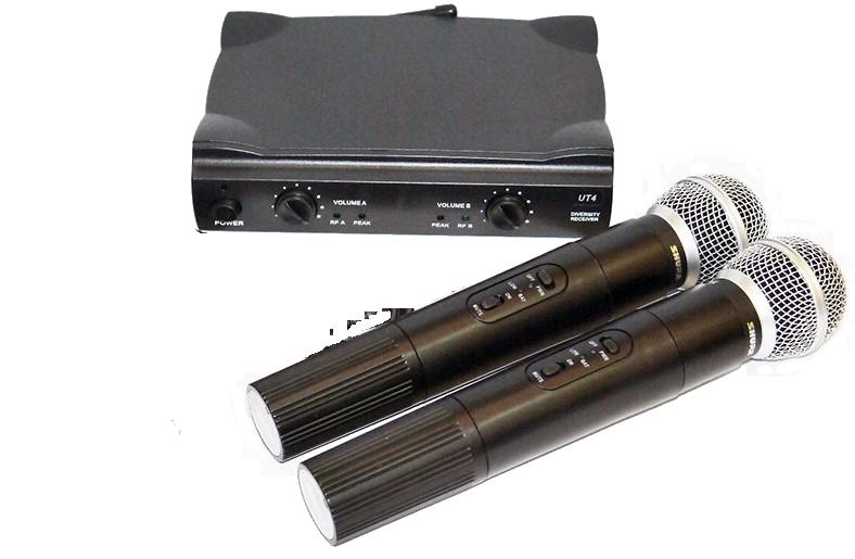Радиосистема Shure UT4 (SM58) + 2 Микрофона