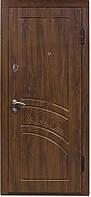 """Дверь входная """"Министерство Дверей"""" ПО-55 Орех тёмный  (металическая, квартирная доставка, установка)"""