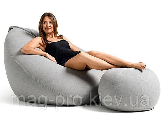 Безкаркасне крісло-груша Рогожка, фото 2
