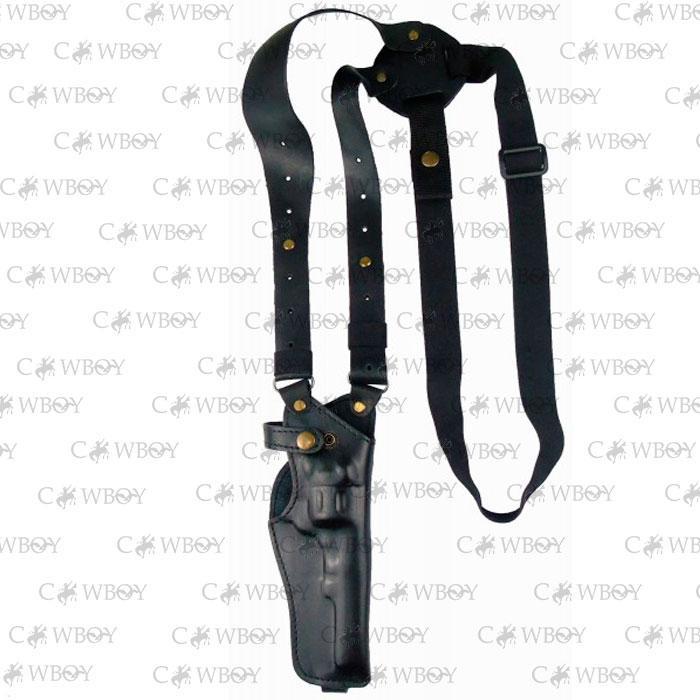 Медан 1001 Кобура оперативная револьвер 4-4.5 кожаная формованная трехслойная (кожа, чёрная)
