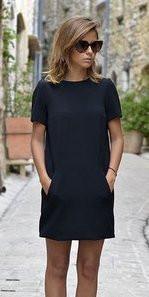 Подростковое платье базовое