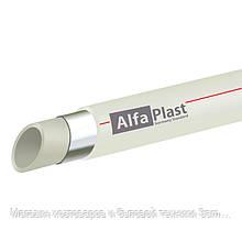 Труба PPR Alfa Plast PPR/AL/PPR армированная алюминием 20