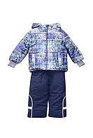 Комплект (куртка, полукомбинезон) ТМ For Kids 6771 синий цвет (104)