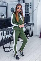 """Спортивный костюм женский на манжетах, размеры 42-46 (2цв) """"LAVANDA"""" купить недорого от прямого поставщика"""