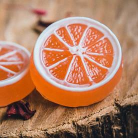 Мыло ручной работы Ароматный апельсин, апельсиновое мыло, мыло апельсин