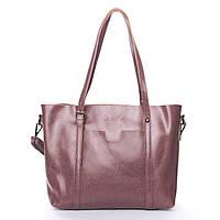 Женская сумка фиолетового цвета из натуральной кожи, классика, фото 1