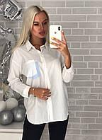 Рубашка женская белая, фото 1