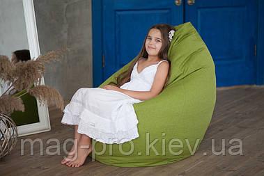 Безкаркасне крісло-груша Рогожка M (110/80/80) покращений