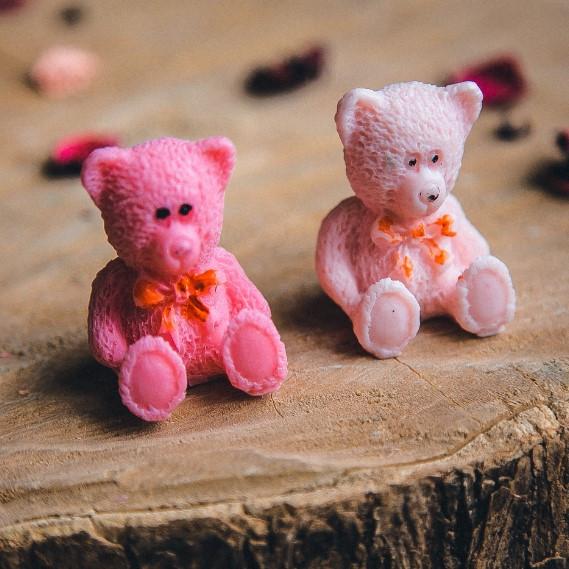 Мыло ручной работы Мишка, детское мыло