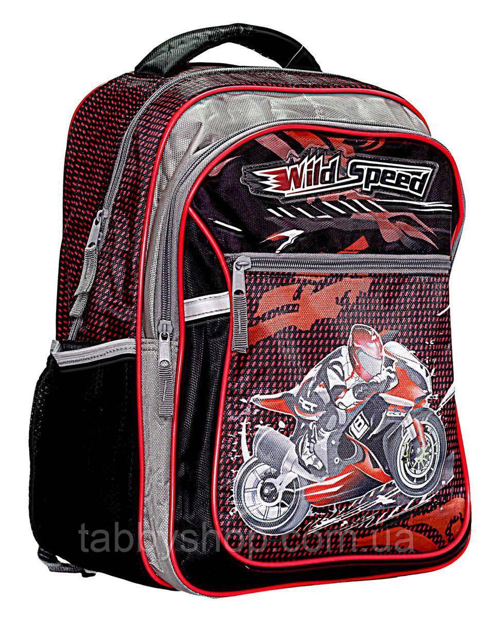 Рюкзак школьный RAINBOW Wild Speed