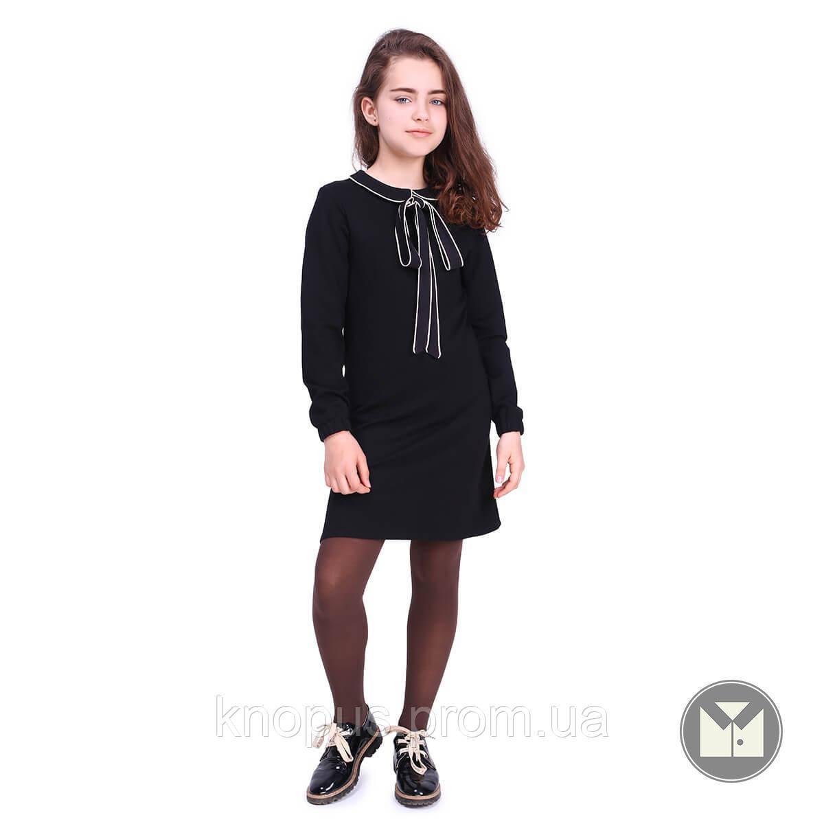 Платье для девочки, Britney, черное, Timbo, размеры 122-152