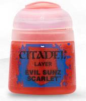Краска Цитадель Air: Evil Sunz Scarlet (Citadel Air: Evil Sunz Scarlet ) настольная игра
