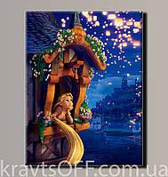 """Картина на холсте """"Рапунцель 2'' ( 54х41 см )"""