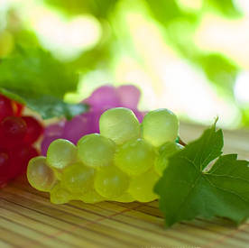 Мыло ручной работы Виноград, виноградное мыло