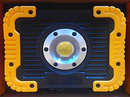 Фонарь прожектор 6003A, 10W, Power Bank, фото 2