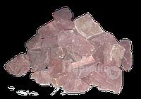 Камни для бани и сауны (малиновый кварцит)
