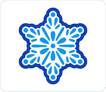 Трафарет + формочка-вырубка для пряников Снежинка №7